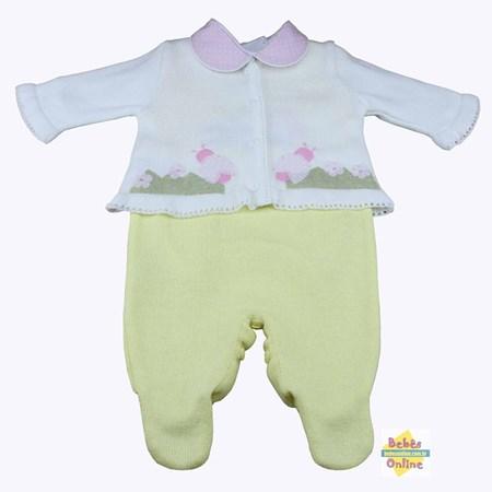 Conjunto Joaninhas em tricot - PP - 2 itens