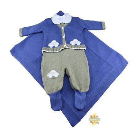 Saída de Maternidade Carrinhos com body  - PP